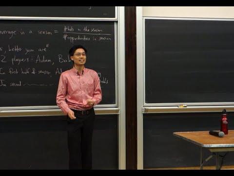 NYMC Talk by Dr. Po-Shen Loh: Probability