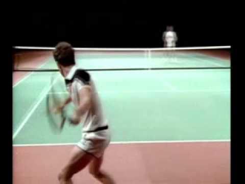 Tennis Training mit John McEnroe und Ivan Lendl