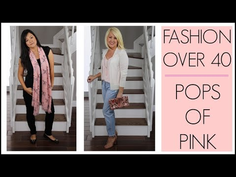 SPRING FASHION TRENDS 2018 FOR WOMEN OVER 40   How To Style Everyday Outfits With Pink Lookbook