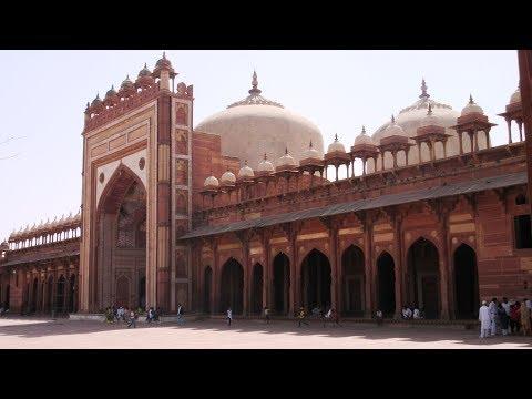 Indien India Jama Masjid Fatehpur Sikri फ़तेहपुर सीकरी Uttar Pradesh Tomb of Salim Chishti
