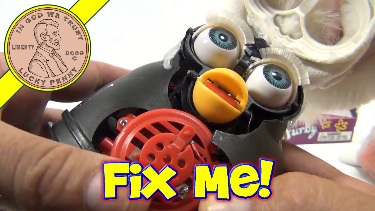 Repair Fixing Furby Repair Fixing A Tiger Electronic Furby From 1998