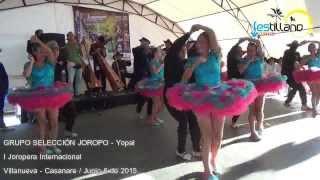 JOROPERA INTERNACIONAL VILLANUEVA CASANARE - GRUPO SELECCION JOROPO