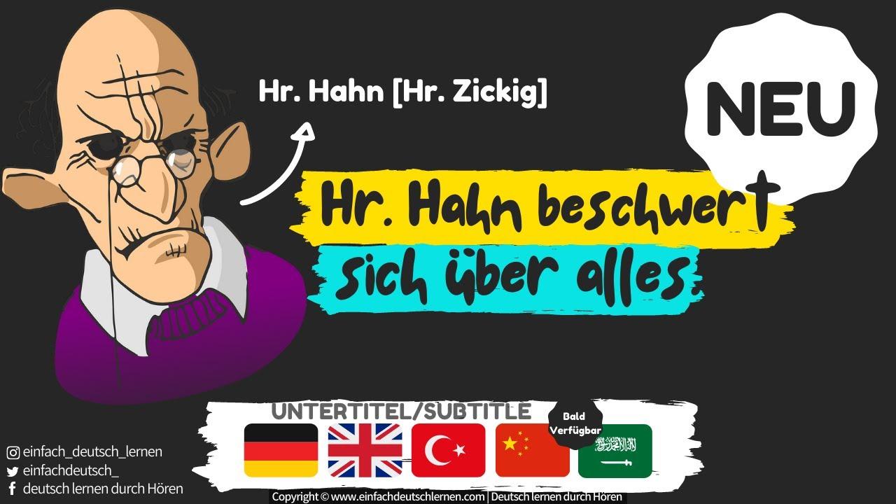 #1 | Deutsch lernen mit Dialogen | Deutsch lernen durch Hören | UT: 🇩🇪 🇬🇧 🇹🇷