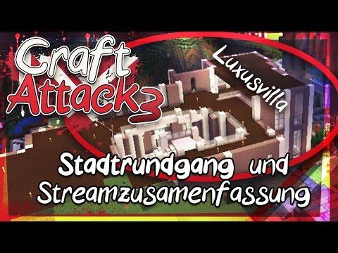#04 ◦ CRAFT ATTACK S3 - Geiler STADTRUNDGANG + Die Streamzusammenfassung