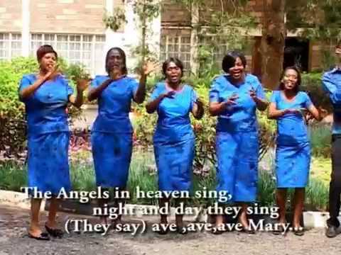 Nairobi County Choir - Ave Maria (dial *811*103#  to get this Skiza Tune)