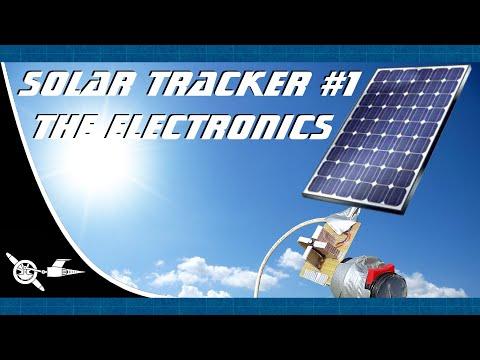 Solar power-solar tracker #1 the Electronics