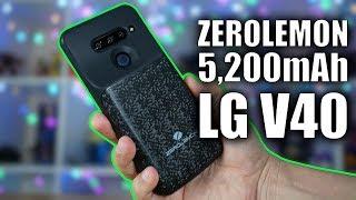 ZeroLemon 5,200mAh Battery Case for the LG V40!