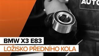 Jak vyměnit Brzdové Destičky на BMW X3 (E83) - online zdarma video
