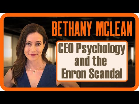 Bethany McLean   CEO Psychology and the Enron Scandal   Zer0es TV