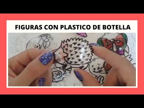 Dibujos en plastico de botella para decorar o regalar for Dibujos para decorar