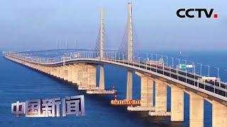[中国新闻] 携手共建一流湾区 跨海跨江通道建设助力珠江东西两岸协同发展 | CCTV中文国际