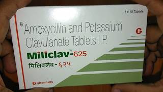 Miliclav 625 Tablets full review in Hindi