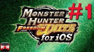 MONSTER HUNTER FREEDOM UNITE for iOS - Quest Level 1 Walkthrough Part 1