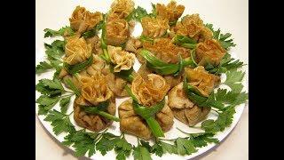 МАСЛЕНИЦА🌝 Гречневые блины с начинкой из лесных грибов