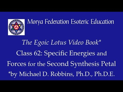 Egoic Lotus Webinar Commentaries 62: Specific Energies and Forces For the Second Synthesis Petal