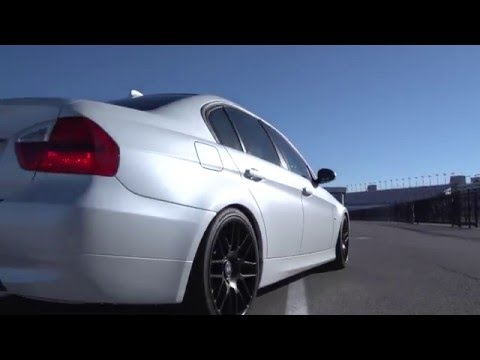 Bmw 335i Complete Color Change Gloss Pearl White Youtube