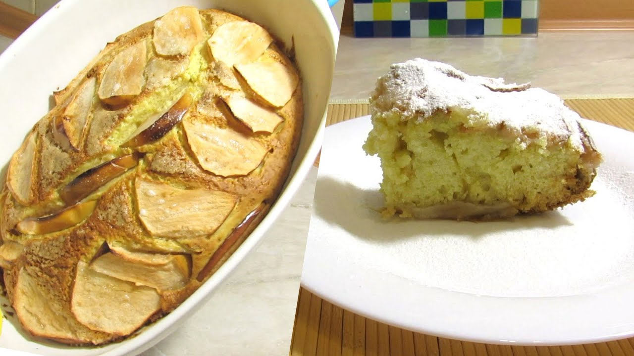 How To Make Easy Apple Cake Simple Quick Homemade Recipe Step By Tutorial