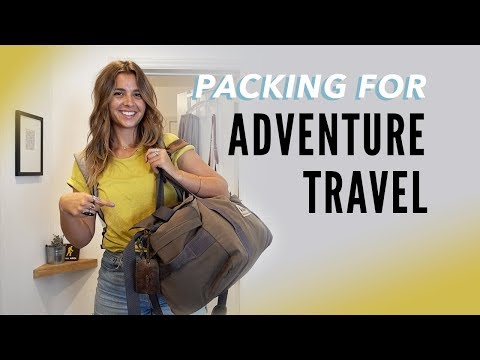 My Packing List for Adventure Travel in Europe