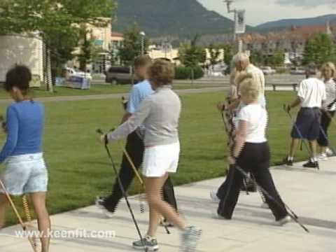 Nordic Pole Walking ADVANCED Technique! LESSON 7 of 7: How To Get More Calorie Burn w/ Walking Poles