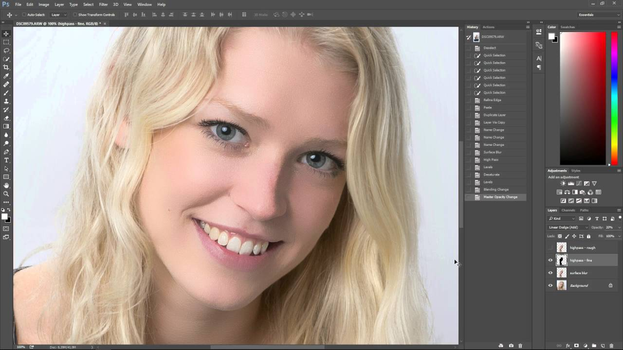 Photoshop tutorial smooth skin with texture intact youtube photoshop tutorial smooth skin with texture intact baditri Choice Image