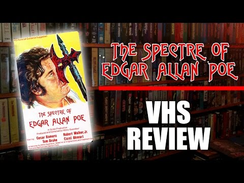 VHS  045: The Spectre of Edgar Allan Poe 198?, Unicorn Video