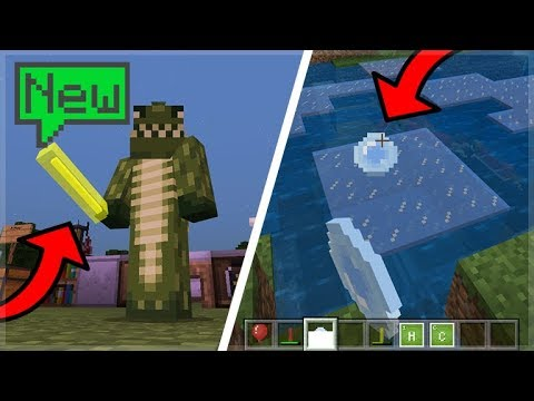 NEW SCIENCE UPDATE IN MINECRAFT 1.4 BETA! (Glow Sticks!)