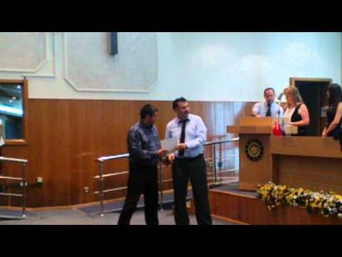 Doç.Dr. Hasan Hüseyin Yıldırım, ATAUM 25.Yıldönümü Ödül Töreni'nde...
