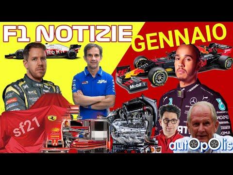 F1 NOTIZIE! HAMILTON RINNOVA??!, Red Bull, FERRARI!, Vettel, BRIVIO & ALPINE!, ecc. GENNAIO 2021