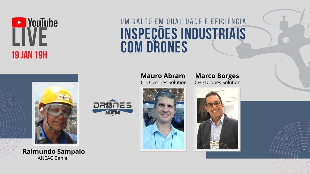 Inspeção Industrial com Drones - O que mudou?
