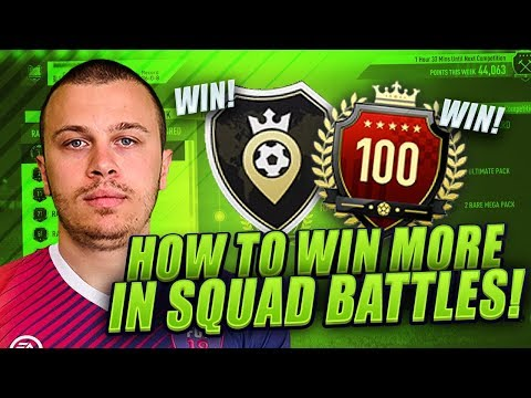 HOW TO INCREASE WINS IN SQUAD BATTLES on FIFA 18 ULTIMATE TEAM - BEST TIPS & TRICKS TO WIN MORE