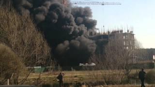 Пожар на стройке г.Подольск(, 2014-04-19T17:04:00.000Z)