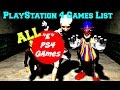 "All ""E"" PlayStation 4 Games - PS4 Video Games List"
