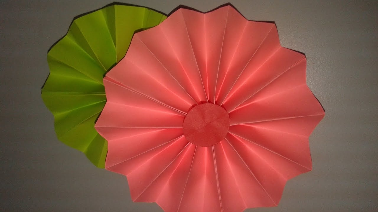 How to make simple paper flowers diy paper crafts origami how to make simple paper flowers diy paper crafts origami tutorials dhlflorist Gallery