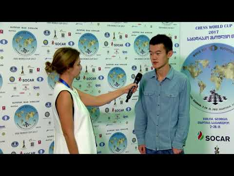 FIDE World Chess Cup Interview with Ding Liren