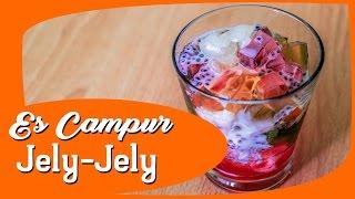 Tutorial Membuat Es Campur Jelly Jelly