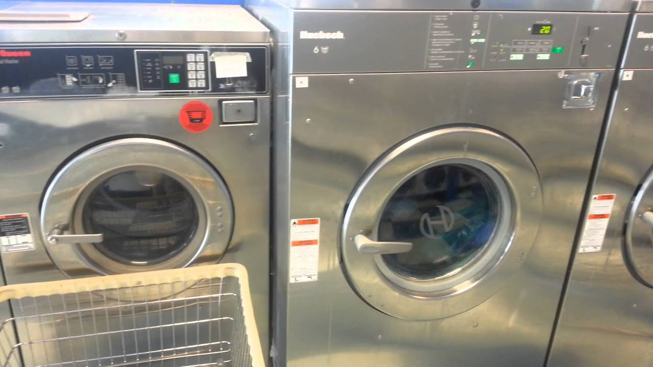 Huebsch Coin Laundry Equipment Vs. Speedqueen - YouTube