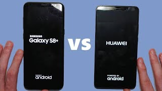 Huawei Mate 10 vs Samsung Galaxy S8+ Speed Test & Camera Comparison!