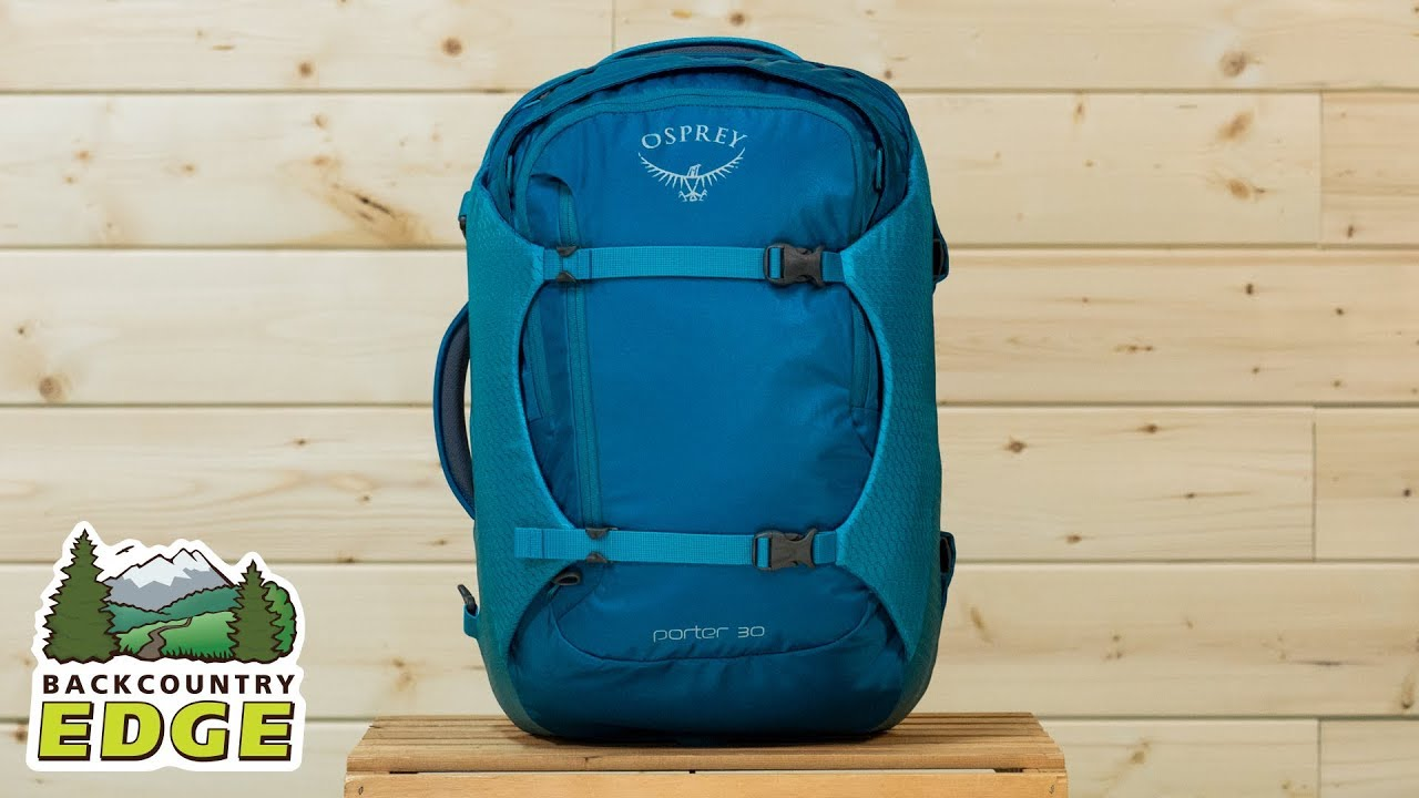 931cc8609f Osprey Porter 30 Travel Pack - YouTube