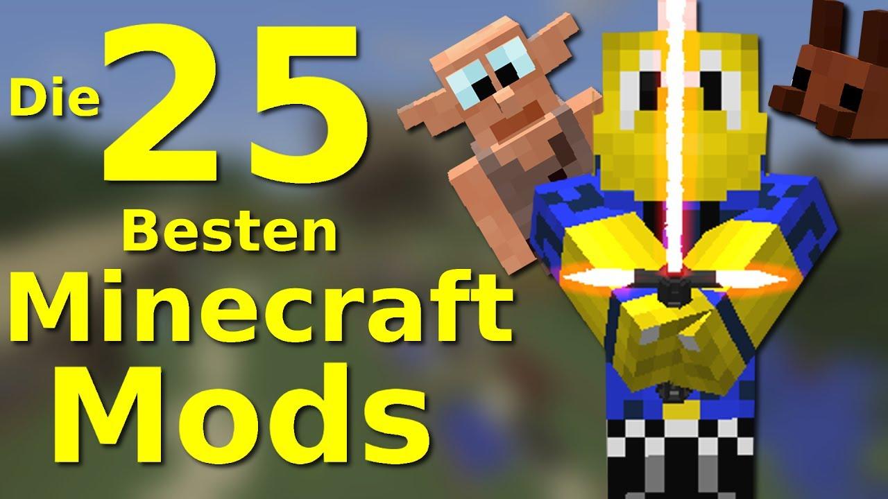 Die 25 Besten Minecraft Mods!!  Youtube
