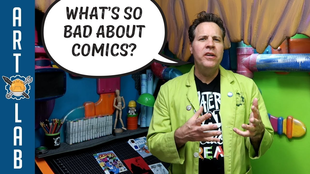 Serkworks Art Labs What's So Bad About Comics? RANT - Videos-New-Latest