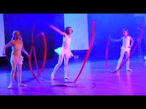 Ailsa - ballet with ribbons