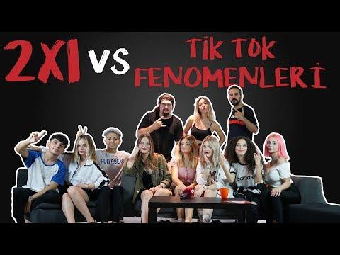 2x1 vs TİKTOK FENOMENLERİ / Klavye Delikanlısı