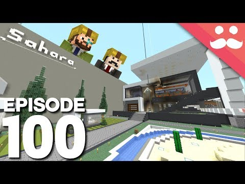 Hermitcraft 6: Episode 100 - Sahara is WORKING!