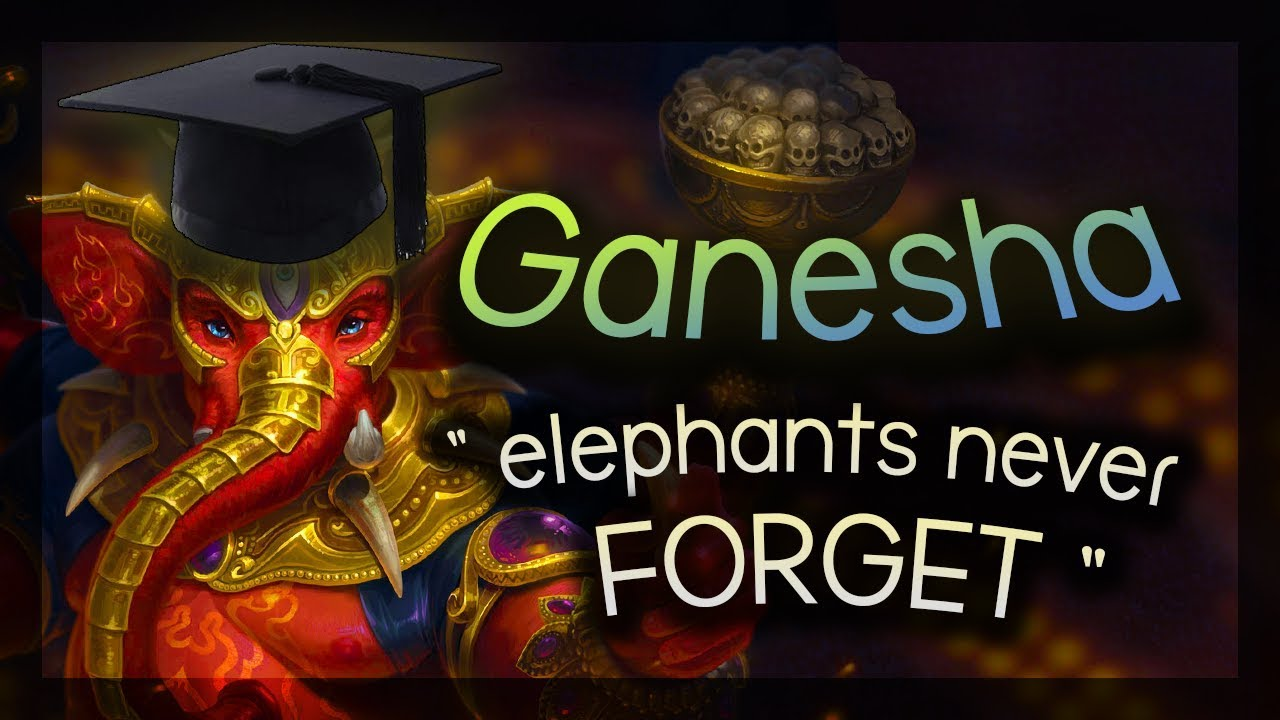 Smite- Elephants never forget...HOW TO FRAG - Ganesha Ranked Smurf Duel