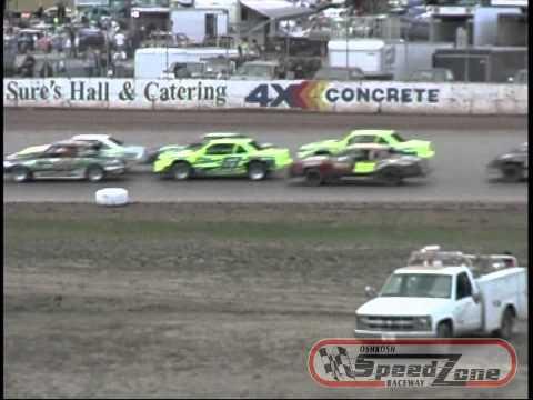 Oshkosh Speedzone Raceway - September 8, 2012 - IMCA Type Stock Car Feature