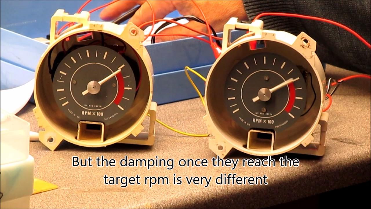 Smiths Rvi Tachometer Wiring