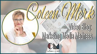 "Construction Industry Motivational Speaker - ""Marketing Media Madness"" Coleen Merk Video Blog -"
