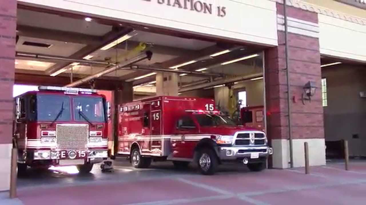 LAFD Light Force 21 From (New) Station 15