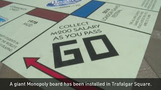 Giant Monopoly has landed in London