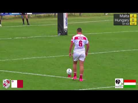 Malta vs Hungary Rugby League 2017